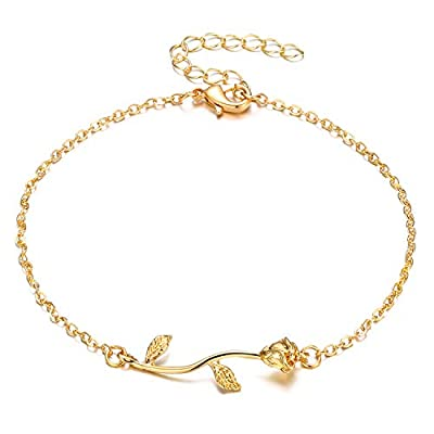Fesciory Women Anklet Adjustable Beach Ankle Ch...