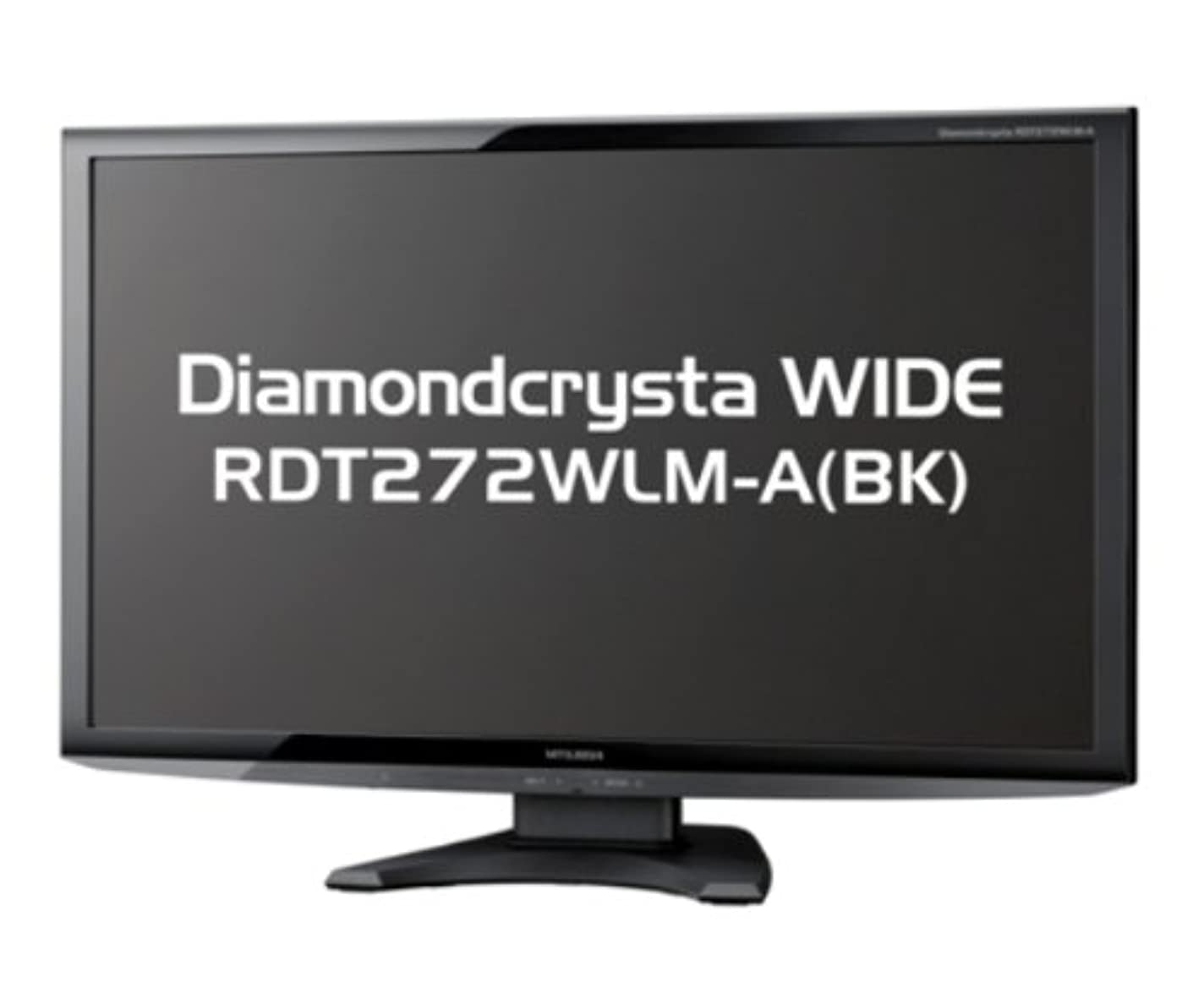 レンズお客様降雨MITSUBISHI 27型三菱液晶ディスプレイ RDT272WLM-A(BK)