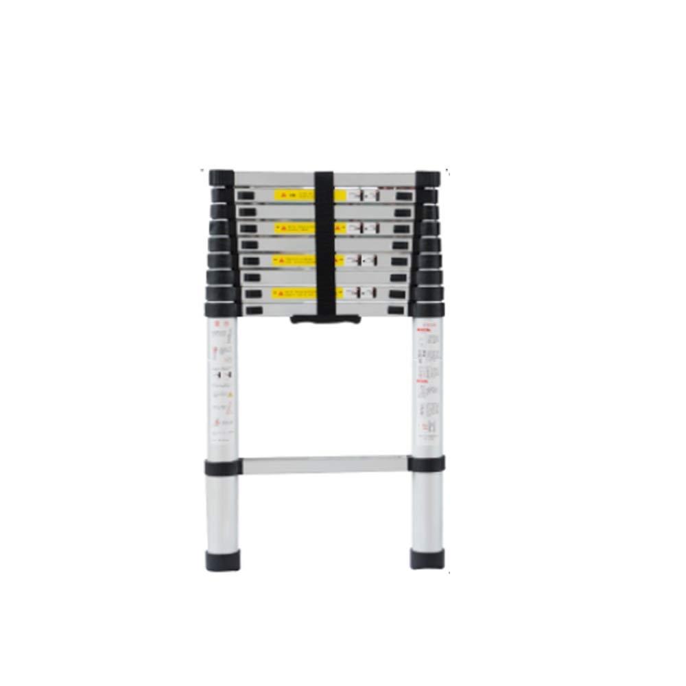 Extensibles Escaleras de tijera de bricolaje Alminium extensible plegable telescópica para herramientas eléctricas, de jardín manuales Opción de 6 tamaños (Size : 2.9m(9.5ft)): Amazon.es: Bricolaje y herramientas