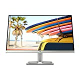 HP 24fw - Monitor Full HD de 23.8' (1920 x 1080, panel IPS LED, 16:9, HDMI 1.4, VGA, 5 ms, 60 Hz, AMD FreeSync, Altavoces incorporados), Color Blanco