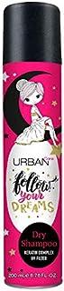 Urban Care Champú en Seco - Dry Shampoo - Follow Your Dreams aroma a nubes de caramelo para todo tipo de cabello. 200ml.