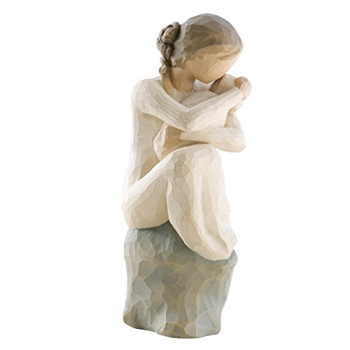 Willow Tree 26195 Figur Demdaco Guardian Beschützerin, 3,8 x 3,8 x 15,2 cm
