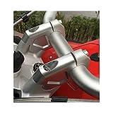 Vástago Bicicleta para BMW R1200GS para LC para ADV 2014-2017 2 Uds 32mm CNC Mecanizado Elevadores Manillar Abrazadera Barra Adaptador Extensión con Pernos Torretas Manillar