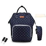 Large Maternity Mummy Diaper Bag Backpack with USB Waterproof Baby Bags for mom