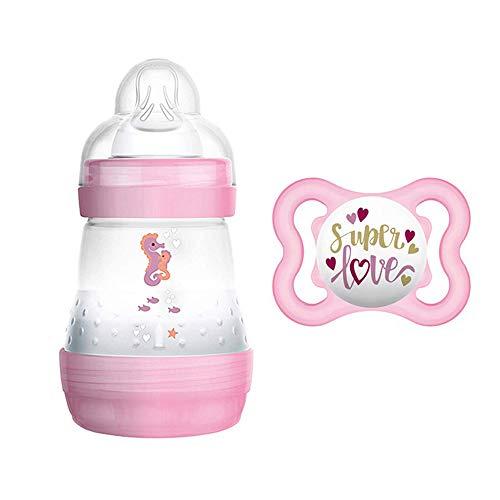 Mam Starter Set Girl//Anti colic Botella 160ml//Incluye