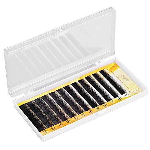 Extension de faux sourcils noirs mélangés Faux renforceur de sourcils Sourcils individuels 5-8mm