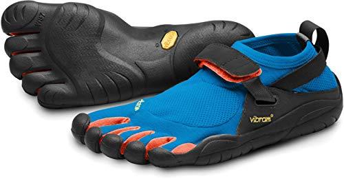 Vibram FiveFingers KSO Hiking Shoes Mens Sz 43 Blue/Orange