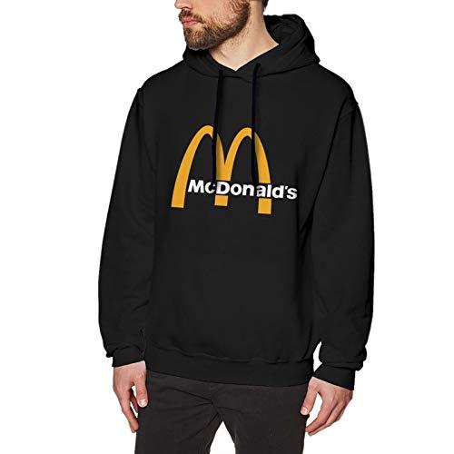 N / A Mcdonalds Herren Kapuzenpullover Langarm Baumwolle Bequem Und Weich Pullover T Shirt M