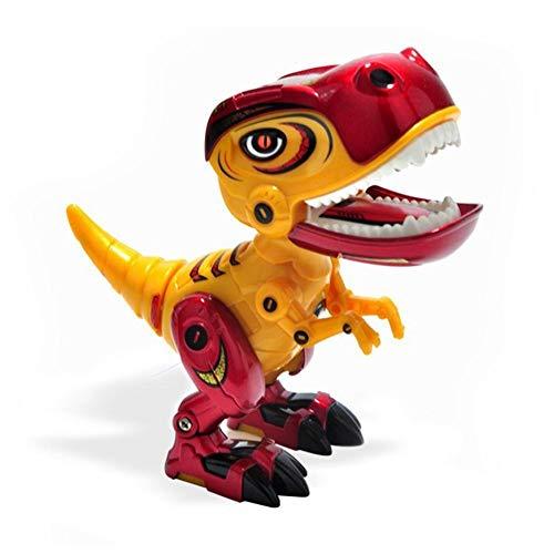 Dinosaur Robot Toy para niños, Mini Dinosaur Toys con Ojos Brillantes y Efecto de Sonido, Divertido Regalo de Juguete electrónico para niños pequeños de 3-10 años