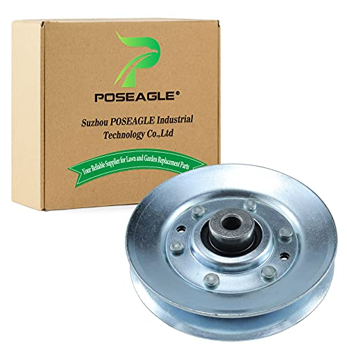 POSEAGLE 146763 Idler Pulley Replaces Husqvarna AYP Craftsman Poulan 532173902 532146763 Oregon 34-318 Rotary 12620 Stens 280-714