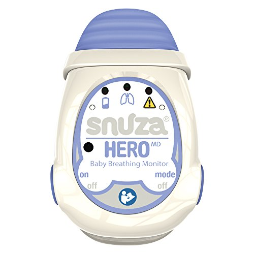 Snuza Hero MD, monitor de respiración portátil para bebés (certificado médico)