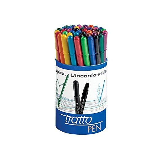 Tratto 807100 Pen, Assortiti, Confezione da 50