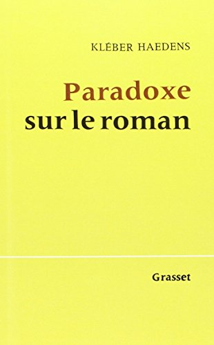 Paradoxe sur le roman (essai français)