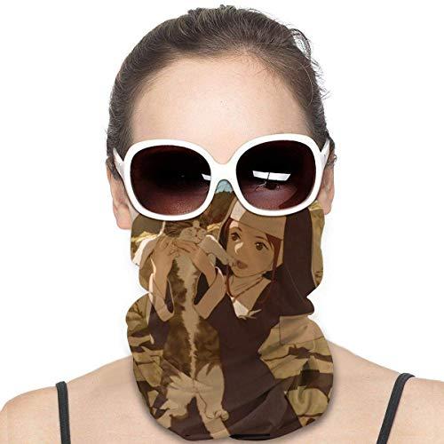 Fire Force-Sister Headbands Unisex, Neck Gaiter Scarf Sun UV Dust Protection Respirant Bandana Mouth Cover Bandanas for Dust Balaclava, Outdoors Helmet Liner
