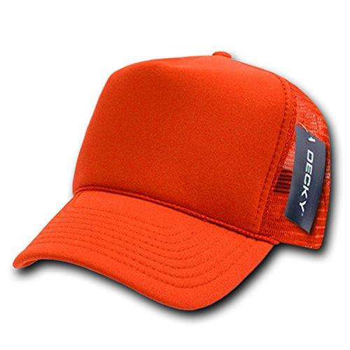 DECKY Solid Trucker Cap, Orange
