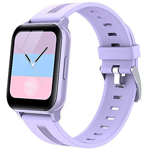 DLBJ Smartwatch, 1.75' Táctil Completa Reloj Inteligente Impermeable 5ATM para Hombre Mujer Integrad, Pulsera Actividad Inteligente con Monitor de Sueño Oxígeno de Sangre para Pulsómetro