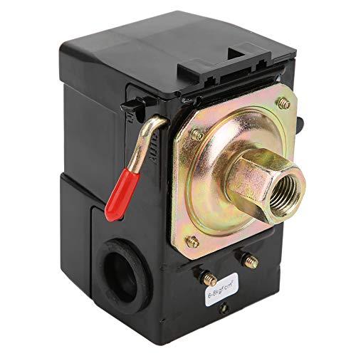 Control del interruptor de presión, servicio pesado FB-10 Monofásico 220 V, control del interruptor de presión del compresor de aire de un solo orificio, 6 kg Arranque de presión-8 kg Parada presió