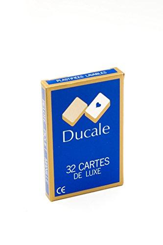Francia Mapas - 404622 - Juegos de Cartas - Jugar 32 Tarjetas Blister [Importado de Francia]