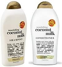 Organix: Nourishing Coconut Milk Shampoo + Conditioner (Combo Pack) (19.5 OUNCE SET)
