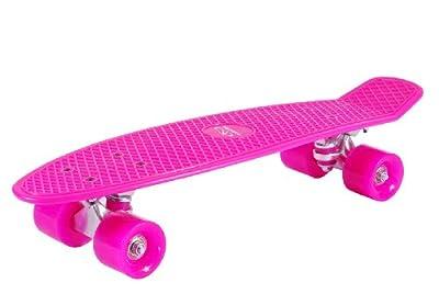 HUDORA Kinder Retro Skateboard - Skateboard Vintage mit ABEC 5 Kugellager