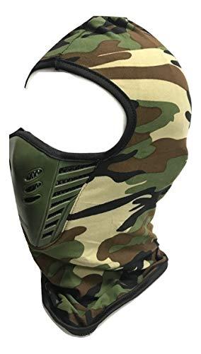 PINK UK ONLINE Máscara facial ultra delgada del ejército de camuflaje de malla pasamontañas esquí moto moto deportes Swat