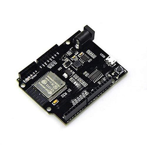 ARCELI NO R3 D1 R32 ESP32 ESP-32 CH340G Entwicklungsboard Dual-Mode WiFi Bluetooth 4 MB Flash DC 5V-12V mit Micro USB für Arduino