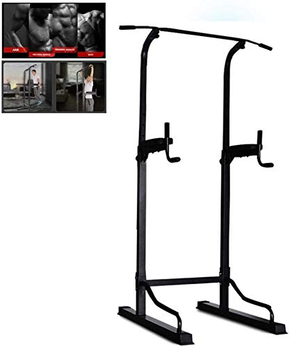 YLJYJ Upright Exercise Bikes Fitness Indoor Horizontal Bar Pull-up Equ for The Home Sports Equ Equ Stable Parallel Bars spin bikection Home Spinning bikebic (Color : Black, Size : 60x60x185cm)