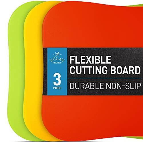 Zulay Extra Thick Flexible Cutting Board Mats