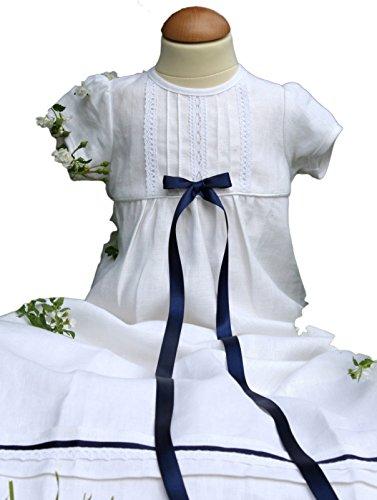 Grace of Sweden - Costume de baptême - Bébé (garçon) 0 à 24 mois blanc White bow 62, 3-6 months, chest 18 in.