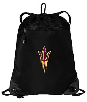ASU Drawstring Bag Arizona State Cinch Pack Backpack UNIQUE MESH & MICROFIBER