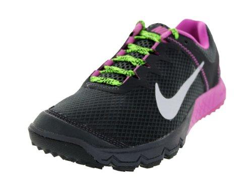 1693O sneakers donna NIKE ZOOM WILDHORSE nero/fuxia shoes woman [37.5]