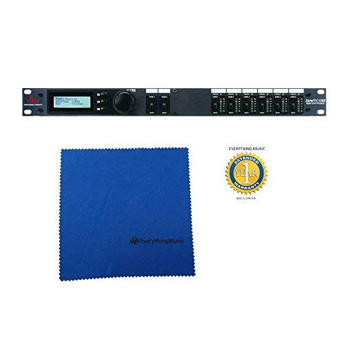 dbx ZonePro 1260 12x6 Digital Zone Processor with Microfiber and Free EverythingMusic 1 Year Extended Warranty