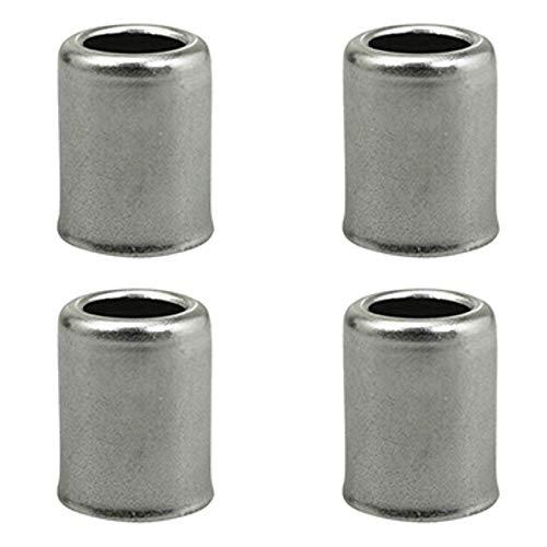 4 conectores de manguera de acero inoxidable de 13,5 mm de diámetro, LG18 mm de diámetro, para moto o motociclista.