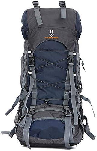 Miles Sail Chaude 60L Nylon Oxford Sac Sec Imperméable à l'eau en Plein Air De Haute Qualité Voyage Sac à Dos Hommes Femmes Camping Alpinisme Randonnée Sacs à Dos, Deep bleu, 50-70L