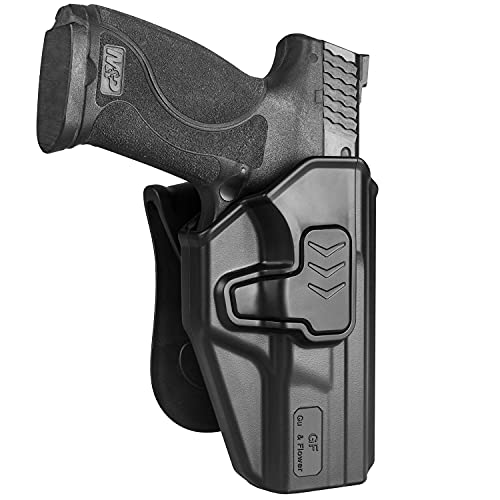 OWB Holster Compatible with S&W M&P 9mm/.40 Full-Size M2.0,...
