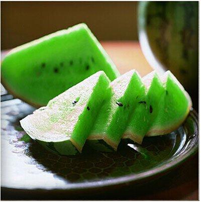 Mixtes rares Graines de pastèque chinois juteux fruits délicieux melon d'eau Plantes Bonsai pot pour jardin Décor 40 pcs/sac 8