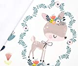 Panel Softshell Frühlingsfreunde - weiß Eigendruck