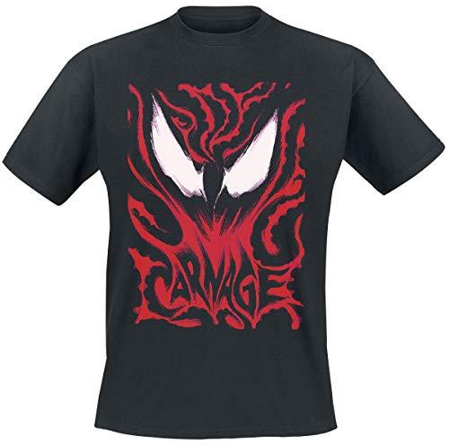 Venom (Marvel) Carnage T-Shirt schwarz M