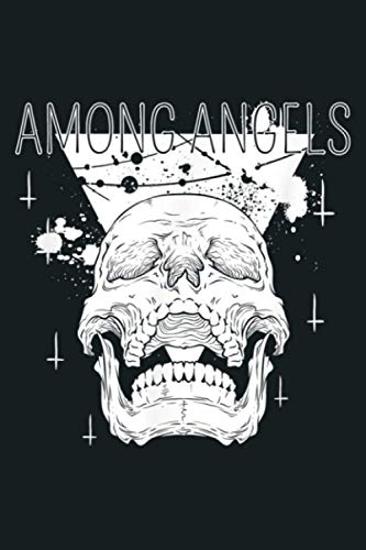 Among Angels Skull Gothic Pastel Goth Grunge Death Graphic: Notebook Planner -6x9 inch Daily Planner Journal, To Do List Notebook, Daily Organizer, 114 Pages