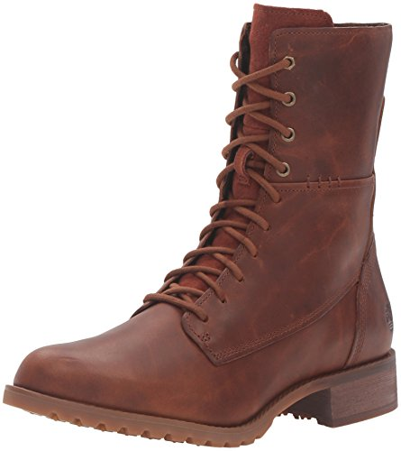 Timberland Women's Banfield Mid Lace Boot, Wheat Forty, 7.5 M US