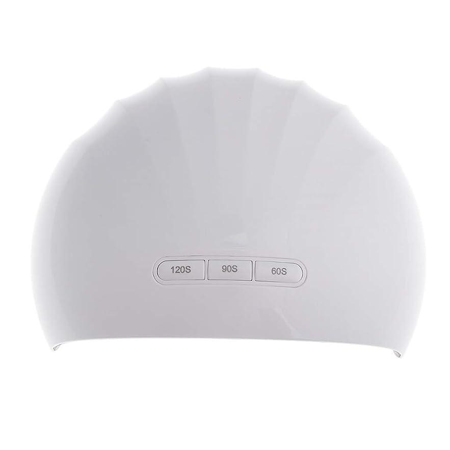 遠いディレクター感謝KESOTO ネイル硬化用ライト ネイルランプ UVネイル ネイル乾燥機 ジェルネイルドライヤー 2タイプ選べ  - 24W
