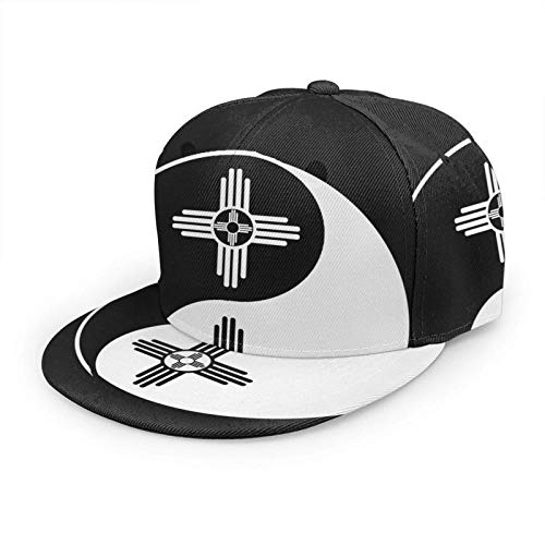 Sun Zia Pueblo New Mexico Sun Gorra de béisbol de Moda Ajustable Hip Hop Sombrero Unisex 3D Impreso...