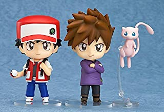 PUNIDAMAN Anime Nendoroid 612 Red & Green 10Cm Action Figure Toys Must Have Gifts Friendship Gifts The Favourite Superhero Coloring Unboxing Toys