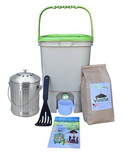 Fantastic Prices! Vermikashi Bokashi Compost Kit Deluxe Model
