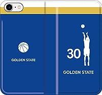 【全機種対応】 iPhone スマホケース バスケ(アウェイ ゴールデンステイト 30番 A)ステフィン カリー ウォリアーズ 13 iPhone11