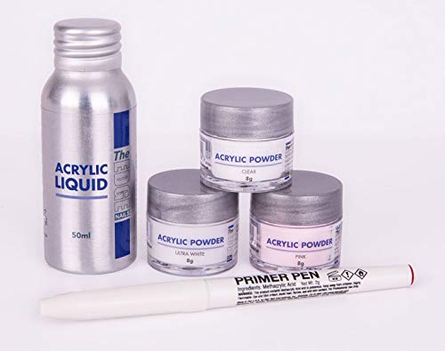 The EDGE Acrylic Powder Plus Liquid Trial Pack