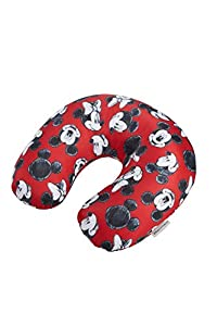 Samsonite Global Ta Disney Microbead Almohada de Viaje, 32 cm, Rojo (Mickey/Minnie Red)