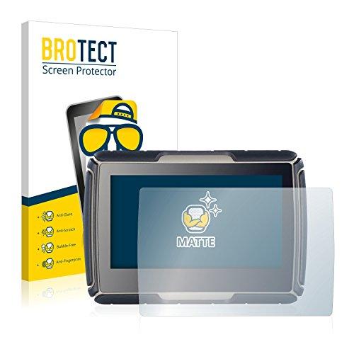 BROTECT 2X Entspiegelungs-Schutzfolie kompatibel mit NavGear TourMate N4 Displayschutz-Folie Matt, Anti-Reflex, Anti-Fingerprint