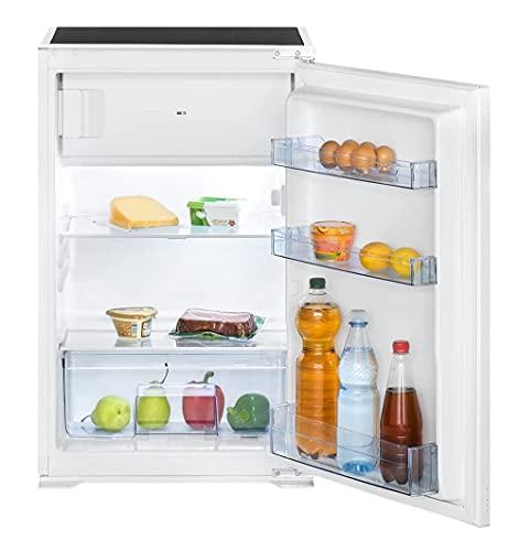 Bomann KSE 7805.1 Einbau-Kühlschrank, 118 Liter Nutzinhalt, LED Innenraumbeleuchtung, Abtauteilautomatik, stufenlose Temperaturregelung, weiß