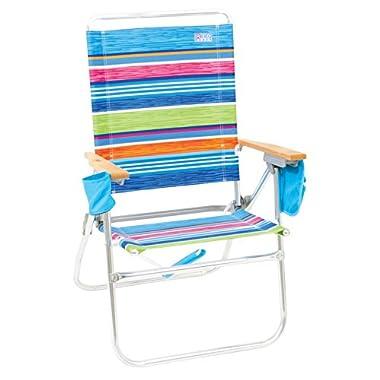 Rio Brands Hi-Boy Beach Chair - Stripe